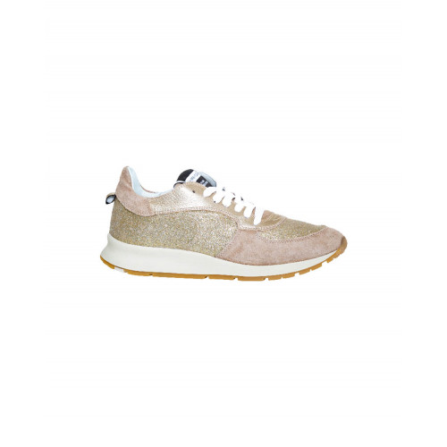 "Golden sneakers ""Monte Carlo"" Philippe Model for men"