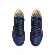 Achat Blue and orange sneakers Tropez Philippe Model for men - Jacques-loup