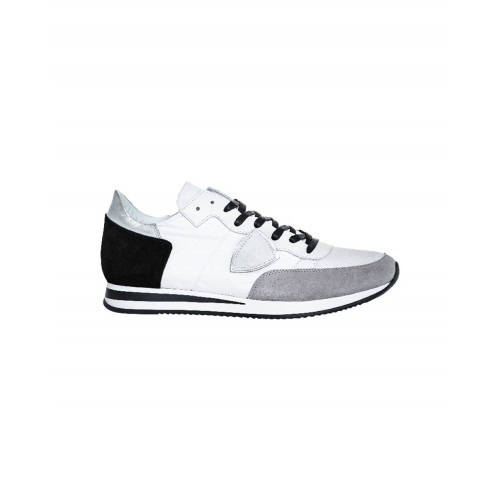 Achat White and grey sneakers Tropez Philippe Model for men - Jacques-loup