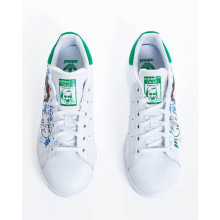 "Sneakers Adidas by Debsy ""Snow White"" white for women"
