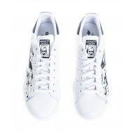 "Sneakers Adidas by Debsy ""Batman/Superman"" white for men"