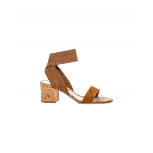 Sandals Gianvito Rossi cognac color for women