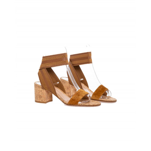 Achat Sandals Gianvito Rossi cognac color for women - Jacques-loup