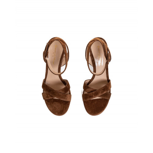 Achat Light brown sandals Gianvito Rossi for women - Jacques-loup