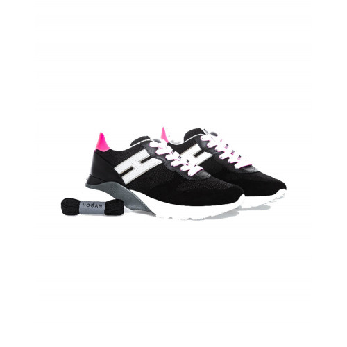 "Black sneakers Hogan ""I-Cube"" for women"