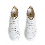 "Sneakers Hogan ""222"" light gold/silver for women"