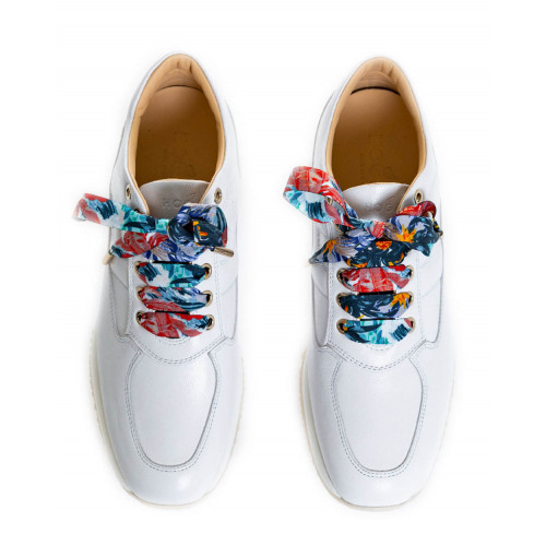 Achat Sneakers Hogan Interactive white with multicolored laces for women - Jacques-loup