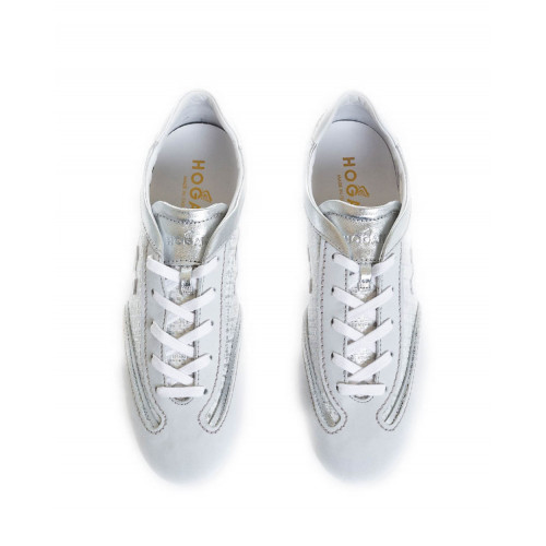 Achat Sneakers Hogan Olympia grey/silver for women - Jacques-loup