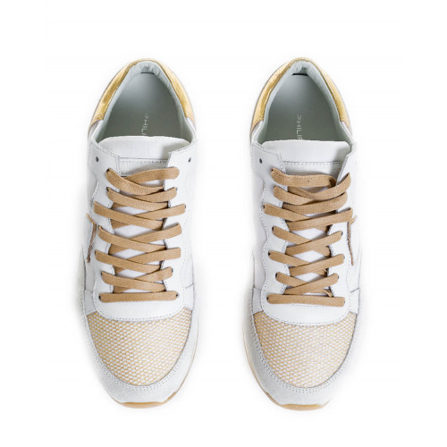 Achat White/platina sneakers Tropez Higher Philippe Model for women - Jacques-loup