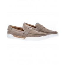 """Moccasins Tod's """"Riviera"""" beige with penny strap for men"""