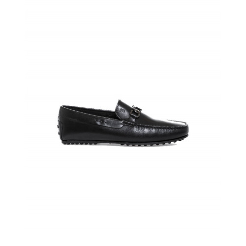 Achat Moccasins Tod's City black with metallic bit for men - Jacques-loup
