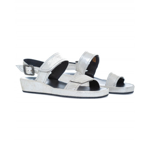 Sandals Thierry Rabotin platinum for women