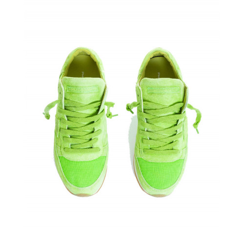 Achat Sneakers Philippe Model Tropez anise for women - Jacques-loup