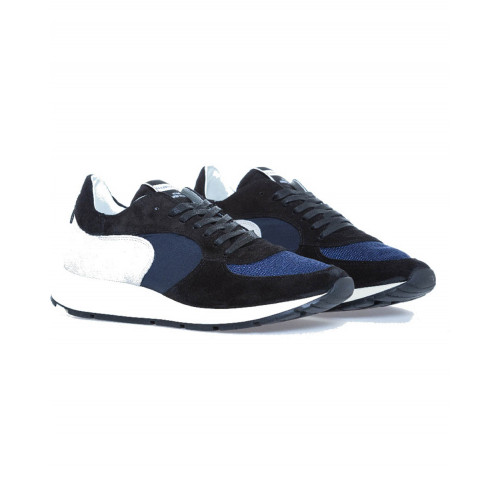 "Sneakers Philippe Model ""Monte Carlo"" blue for men"