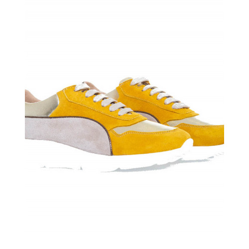 Achat Sneakers Mai Mai yellow, bronze and platinum for women - Jacques-loup