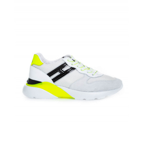 "White and yellow sneakers Hogan ""I-Cube"" for women"