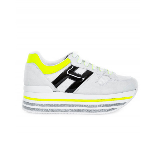 Achat Grey neakers Hogan Maxi Plateforme for women - Jacques-loup