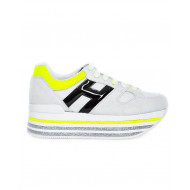 "Grey neakers Hogan ""Maxi Plateforme"" for women"