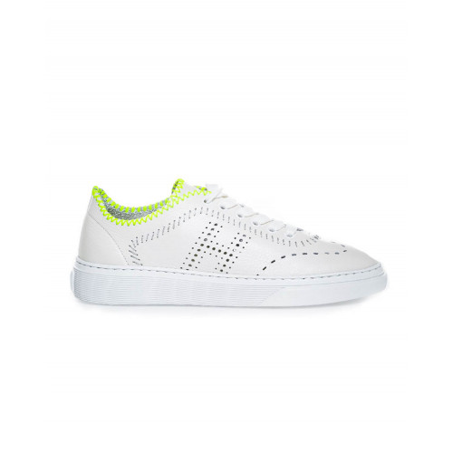 "Sneakers Hogan ""Cassetta ""white/yellow for women"