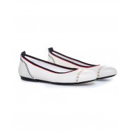 Achat Ballerinas Hogan Wrapp white for women - Jacques-loup