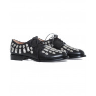 Achat Derby shoes Samuele Failli black with nails for women - Jacques-loup