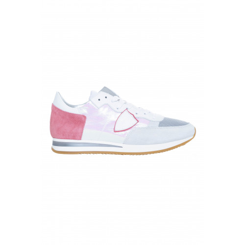 Achat White and pink sneakers Tropez Philippe Model for women - Jacques-loup
