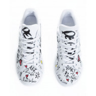 Achat Sneakers Adidas by Debsy Street Art white for women - Jacques-loup