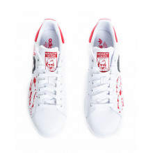 """Sneakers Adidas by Debsy """"Casa del Papel' white for men"""