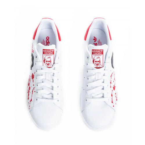 "Sneakers Adidas by Debsy ""Casa del Papel' white for men"