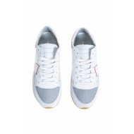 "White and pink sneakers ""Tropez"" Philippe Model for women"