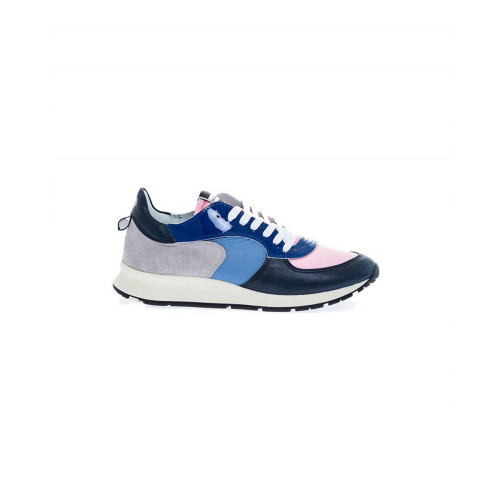 "Blue and pink sneakers ""Monte Carlo"" Philippe Model for women"
