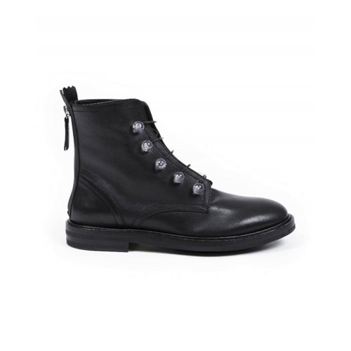Achat High boots with laces Jacques Loup black for women - Jacques-loup