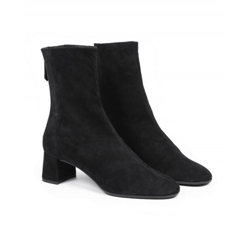 Achat High boots Aquazzura black in suede for women - Jacques-loup