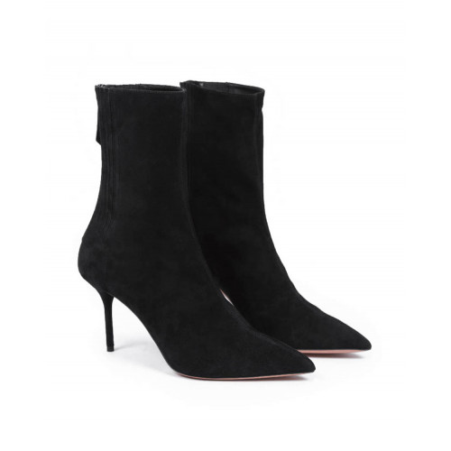 Achat High pointed shoes Aquazzura black with 85mm heel for women - Jacques-loup