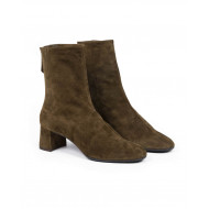 Achat High boots Aquazzura khaki in suede for women kaki - Jacques-loup