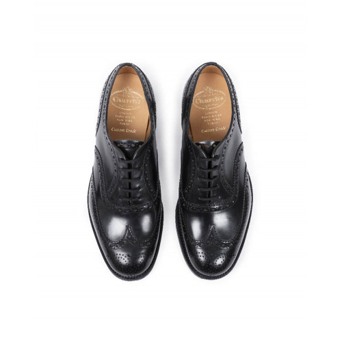 "Brogues shoes Church's ""Burwood"" black for women"
