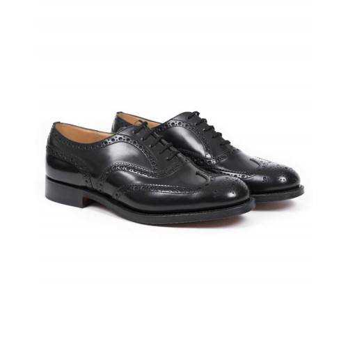 Achat Brogues shoes Church's Burwood black for women - Jacques-loup