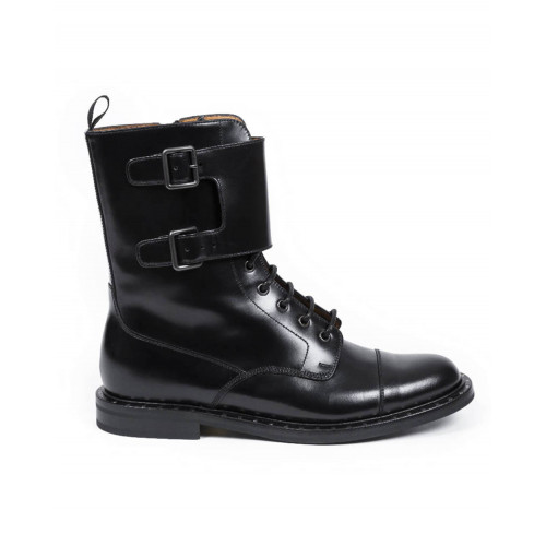 "High boots Church's ""Steffy"" black with laces for women"