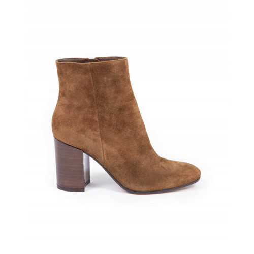 Achat Boots Gianvito Rossi patent brown for women - Jacques-loup