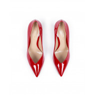 High heels Gianvito Rossi patent red for women