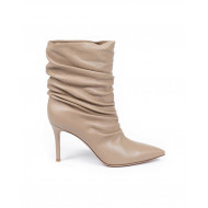 "Boots Gianvito Rossi ""Cécile"" creme color for women"