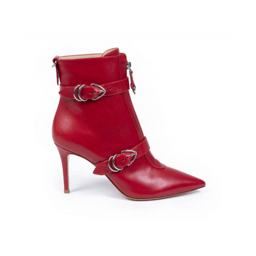 Achat Boot Gianvito Rossi Punk rouge pour femme - Jacques-loup