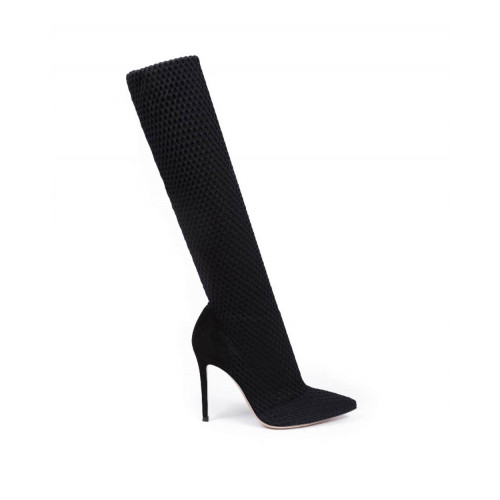Achat Thigh boots Gianvito Rossi Vox black for women - Jacques-loup