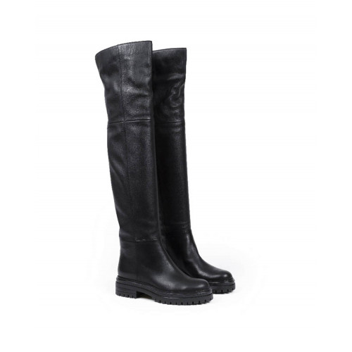 Thigh boots Gianvito Rossi black for women