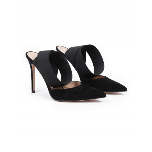 Achat High heel mule Gianvito Rossi black for women - Jacques-loup