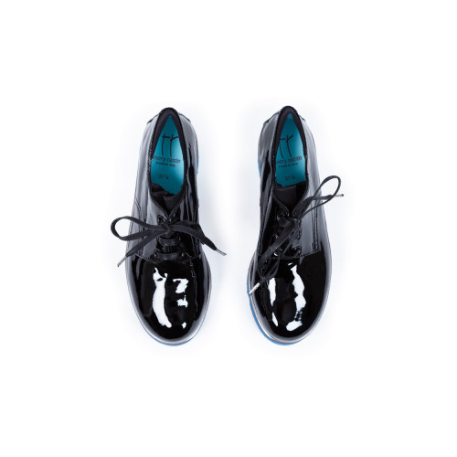 Achat Derby shoes Thierry Rabotin patent black with round tip for women  - Jacques-loup