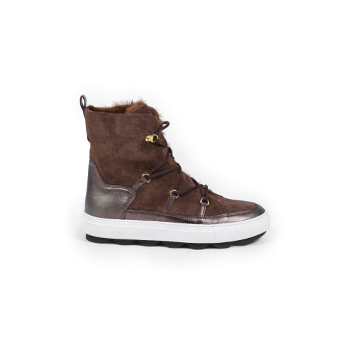 Achat Moon boots Mai Mai brown with fur for women - Jacques-loup