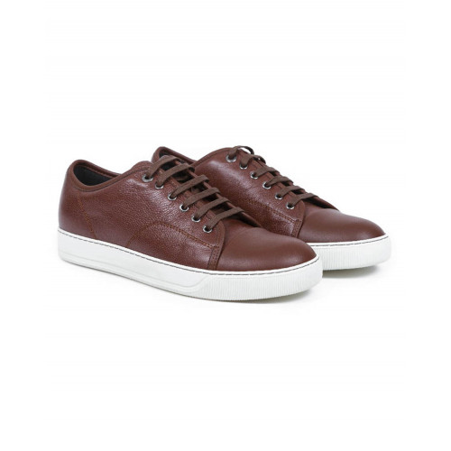 Achat Tennis shoes Lanvin brown with white soles for men - Jacques-loup