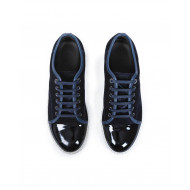 Achat Tennis shoes Lanvin indigo/blue with patent top for men - Jacques-loup