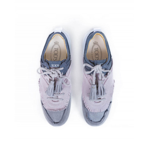 Achat Sneakers Tod's Micro Frangetta grey for women - Jacques-loup
